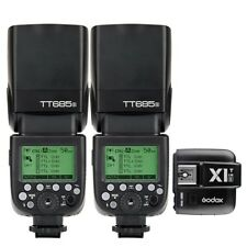 AU 2* Godox Tt685s 2.4g HSS TTL II Gn60 Flash X1t-s Wireless Trigger for Sony