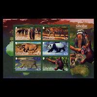 Gibraltar 2011 - Endangered Wild Animals Fauna - Sc 1289a MNH