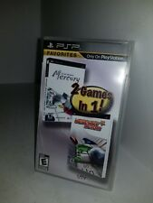 NEW Factory sealed Archer Maclean's Mercury & Mercury Meltdown Games 2 in 1