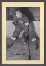 1934-44 Beehive Group I Detroit Red Wings Hockey Photos #100 Gus Biesebrecht