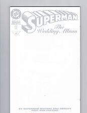 SUPERMAN: THE WEDDING ALBUM,  # 1, SPECIAL, DECEMBER, 1996, WHITE EDITION