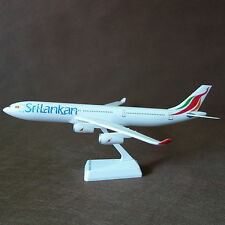 1/200 Srilankan Airlines Airbus A340-300 Airplane Model