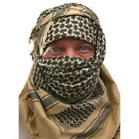 SAS & SF ARMY DESERT TAN SAND ARAB SHEMAGH SCARF Hike Camp Survival 100% Cotton