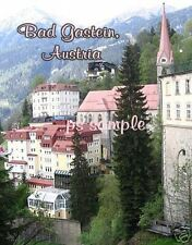 AUSTRIA - BAD GASTEIN - Travel Souvenir Flexible Fridge Magnet