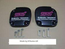 SUBARU Fog Lamp Covers Impreza STi 92-98 Bumper.Carbon effect