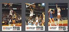 Chicago Bulls 1989-90 Equal basketball team set (rare)