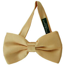 New Plain Pre-Tied Satin Bow tie - Various Colours