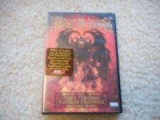 """CRADLE OF FILTH """"PEACE THROUGH SUPERIOR FIREPOWER"""" DVD LIVE BACKSTAGE VIDEO'S"""