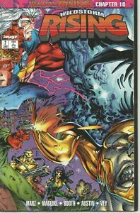 Wildstorm Rising #2 by Ron Marz, Kevin Maguire & Brett Booth (Image, 1995)