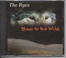 The Ryes - Back to the Wild (CD Album)