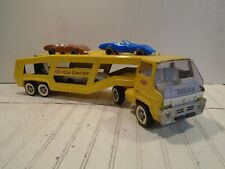 Tonka Car Carrier Vintage 1960s Turbine w/ Gay Toys Corvettes & Ford Mustang