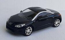 Norev 3 inches 1/60  Peugeot rcz noir . Neuf en boite