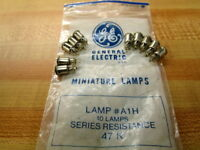 General Electric A1H GE Light Bulb Miniature Lamp (Pack of 10)
