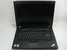 """Lenovo ThinkPad T500 15.5"""" Laptop 2.53GHz Core 2 Duo 2GB (Grade C See Notes)"""