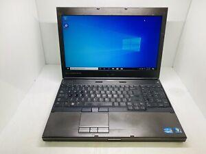 Dell Precision M4600 Intel Core i7-2620M 4GB, 320GB Windows 10 Pro AMD 6700M