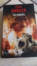 Clive Barker - Sacrements - Fleuve Noir