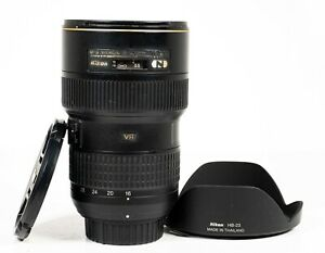 Nikon Nikkor AF-S 16-35mm f/4.0 G ED VR FX Full Frame Zoom Lens