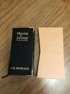 Spurgeon's Morning and Evening by Charles H. Spurgeon with slipcase, leather