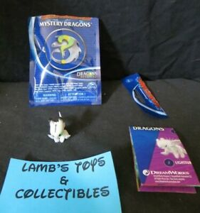 """DreamWorks Mystery Dragon Revealed series 2-3"""" action figure Glitter Pouncer toy"""