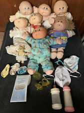 Cabbage Patch Kids Doll Tabitha Mavis adoption Papers 1978 1982 Babies Lot extra
