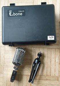 Mikrofon - the t.bone GM-55 - sehr guter Zustand - mit Schutzbox und Ständer