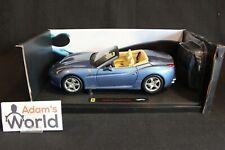 Hot Wheels Elite Ferrari California 1:18 blue metallic (PJBB)