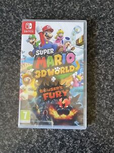 Super Mario 3D World + Bowser's Fury (Switch) Brand New + Signed Delivery