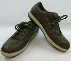 Easy Spirit Leather Low Top Bicycle Toe Comfort Women's Walking Shoes Size 6.5M