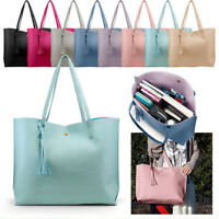 Women Leather Handbag Shoulder Bag Purse Messenger Satchel Crossbody Tote Lot