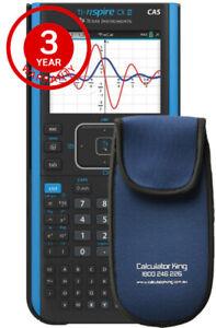 TI-Nspire™ CX II CAS - INCLUDES 3 YEAR WARRANTY & BONUS PADDED WALLET