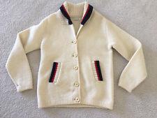 Vintage Mens Shawl Collar Wool 1950s Rockabilly  Sweater sz 38