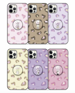 ESTHER BUNNY PEARL TOK GUARD UP PLUS  LEOPARD PRINT SERIES (GRIP TOK INCLUDED)