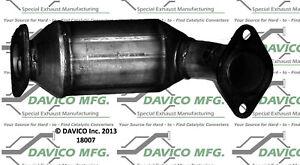 Catalytic Converter-Exact-Fit Front Davico Exc CA fits 97-02 Mitsubishi Mirage