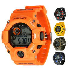 Luxury Men Sport Military Waterproof Digital Quartz Wrist Watch Stopwatch New