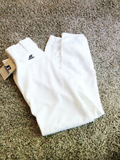Russell Athletic Baseball Softball Pants, NWT, Ankle Length, White