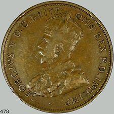 1919 Australia Penny KM# 23