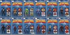 2015 MARVEL SECRET WARS 1 2 3 4 ACTION FIGURE VARIANT COMICS SET/12 1ST PRINTING