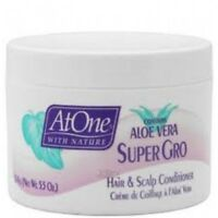 2 x At One Aloe Vera Super Gro Hair & Scalp Conditioner**5.5oz**