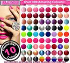 ANY 10x Bluesky UV Gel Nail Polish + Removal Wraps + BONUSES-Over 300+ Colours!