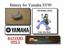 Battery for Yamaha SY99 Synthesizer - Internal Memory Replacement Battery