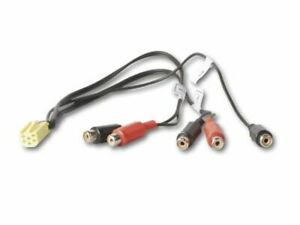 Cinch Adapter für Becker Autoradios zum Anschluss eines Verstärkers