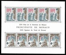 Timbres Monaco Bloc Feuillet 1982 EUROPA N°22 Neuf Sans Charnière