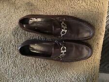Men's shoes used Ferragamo buckle  size 12 shoes