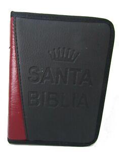 Biblia Reina Valera 60 de bolsillo con funda reforzada, concordancia y mapas