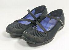 "Skechers Mary Jane ""Heavenly"" Shoes Women's Sz 7/37 Black Textile (sb2ep)"