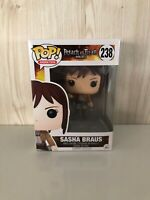 Animation Attack On Titan Sasha Braus # 238 Funko Pop Vinyl