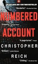 Numbered Account by Christopher Reich (1998, PB, Reprint) Comb ship 25¢ ea ad'l