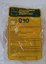 "E-Z-EM Disposable Barium Enema Kits 3000cc 5/16"" Tubing Ref 910 (Lot of 2)"
