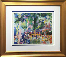 "LeRoy Neiman ""TAVERN ON THE GREEN"" NEWLY CUSTOM FRAMED Lithograph HAND SIGNED"