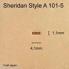 Punziereisen Sheridan Style A 101-5 - Background - Craft Japan